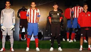 Kostum / Kostim Terbaru Atletico Madrid 2012-2013