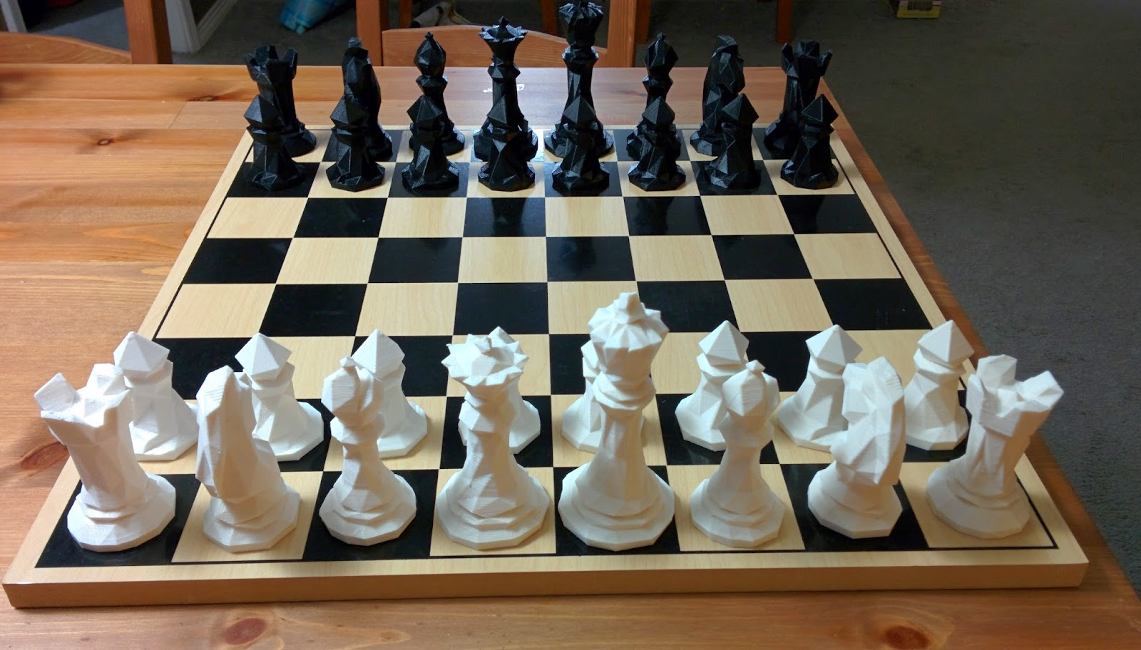 It's just a photo of Breathtaking Printable Chess Board