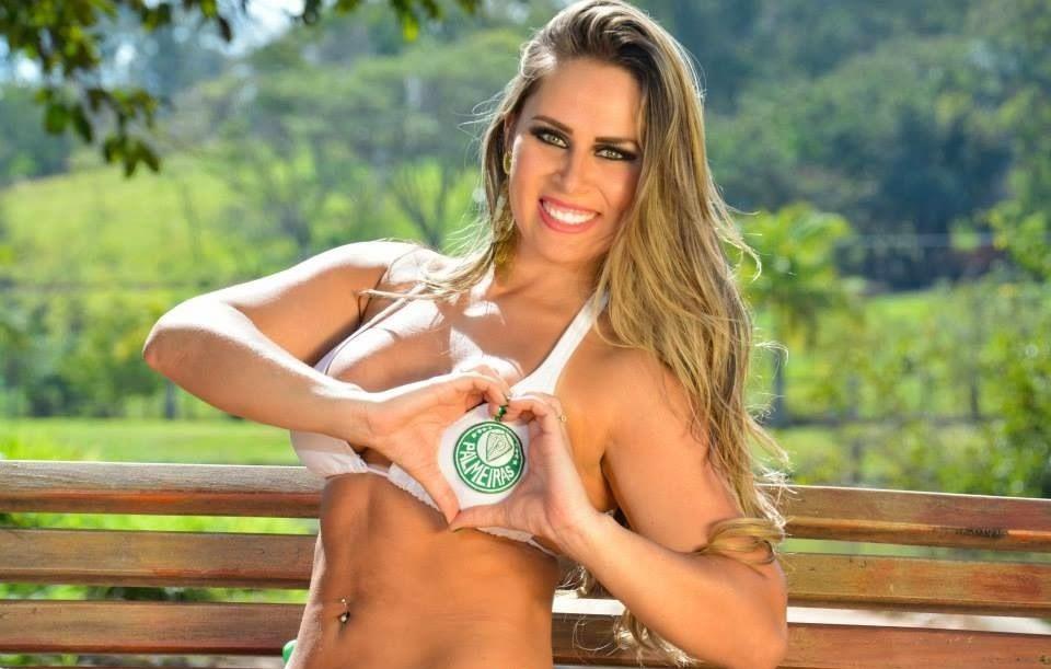 A Bela Musa do Palmeiras Aline Simony