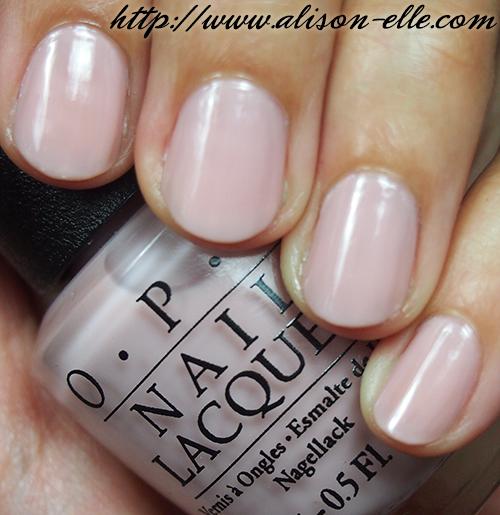 Opi Opaque White Nail Polish