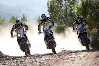 Η Husqvarna Motorcycles στο Rally Dakar του 2016 με νέα σύνθεση