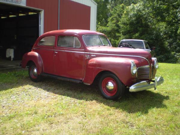 Barn find 1941 plymouth deluxe sedan auto restorationice for 1941 plymouth deluxe 4 door
