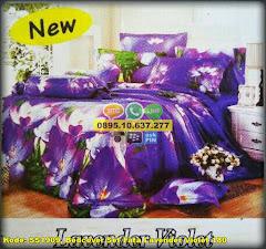 Harga Bedcover Set Fata Lavender Violet 180 Jual