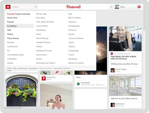 Pinterest Screen 6