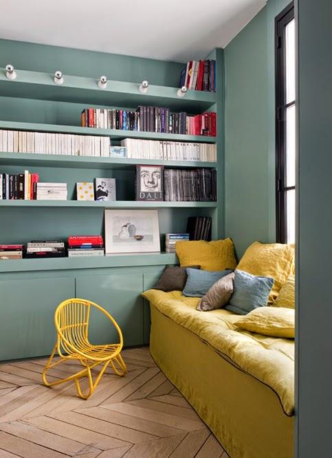 jaune moutarde decoration association couleur