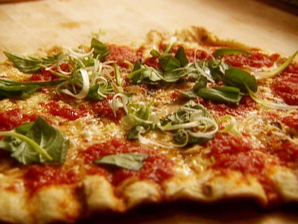 Grilled Pizza Margarita Recipe
