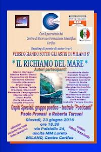 """""""Il richiamo del mare - Verseggiando sotto gli astri di Milano 6° A Breve by Izabella Teresa Kostka"""