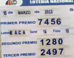 Numeros Jugados En Loteria Nacional De Beneficencia De Panama | Free