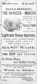 Currie Brothers 1888 Ad