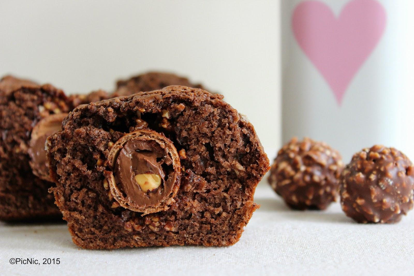 PicNic: Ferrero Rocher Muffins