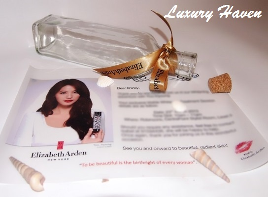 elizabeth arden visible whitening blogger invite