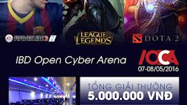 Thông tin giải đấu IBD Open Cyber Arena  lần 2