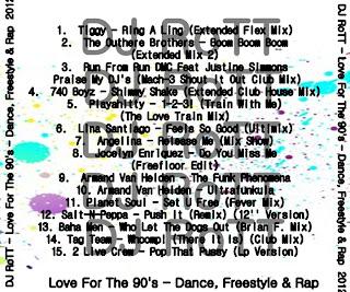Run Feat. Justine Simmons - Praise My DJ's (My Funny Valentine)