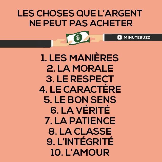 Citations Option Bonheur L Argent Ne Peut Pas Tout Acheter