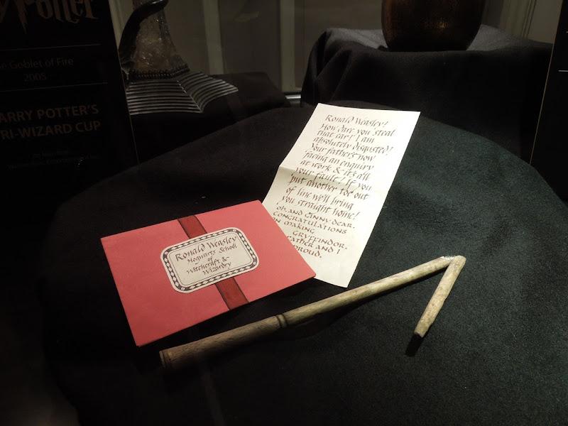 Ron Weasley broken wand letter props