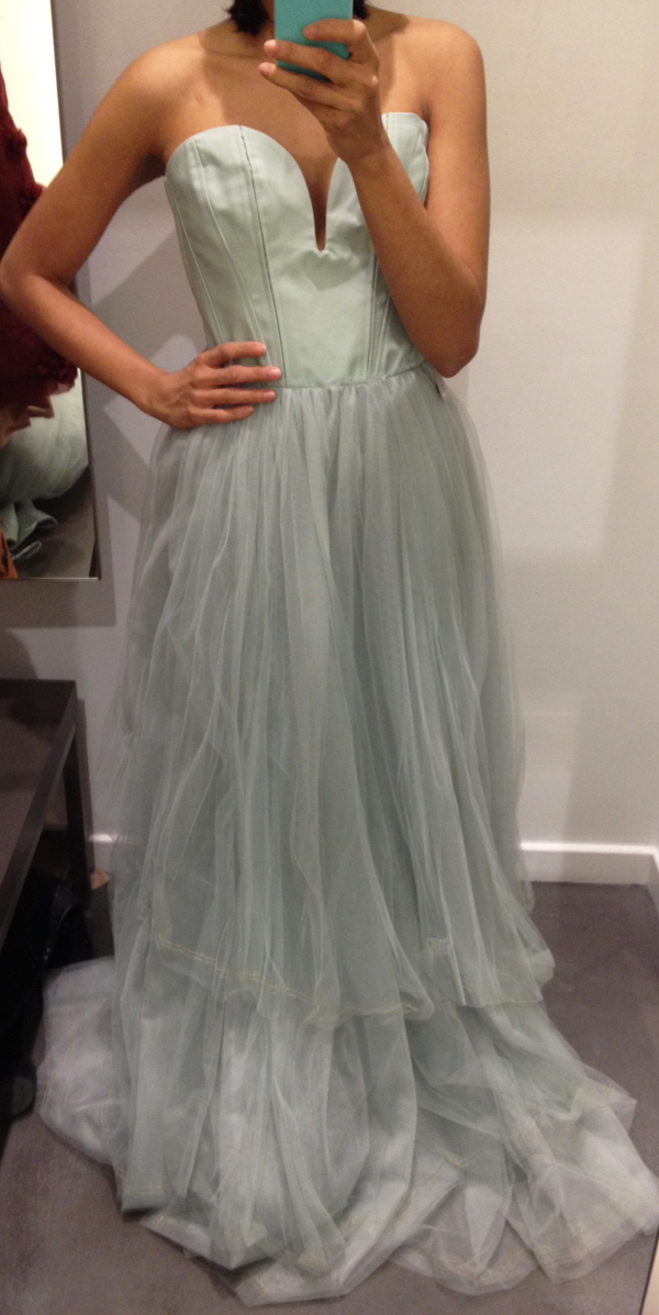 tulle type from the fitting room h m conscious exclusive 2013