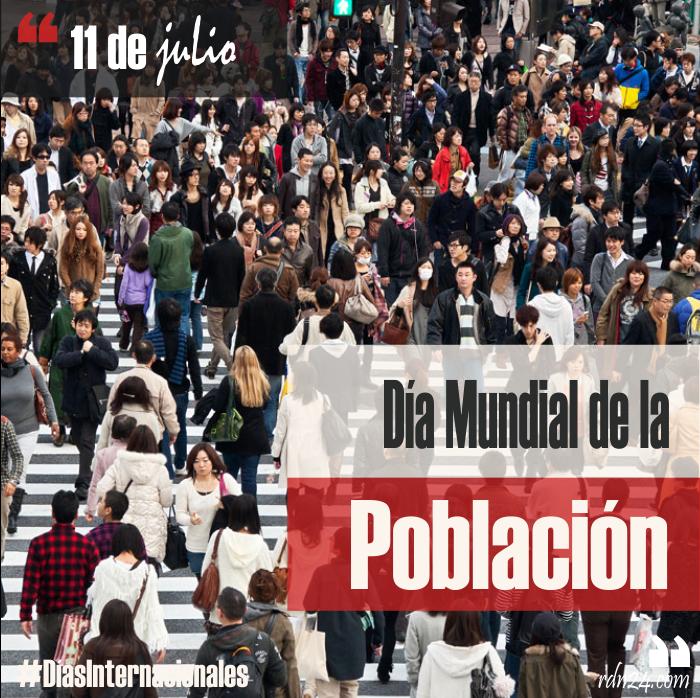 11 de julio – Día Mundial de la Población #DíasInternacionales