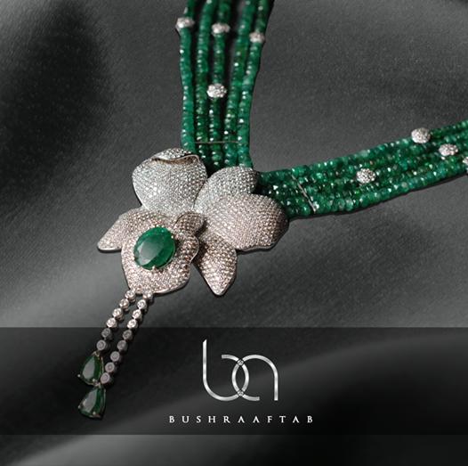 Bushra Aftab Necklace Collection