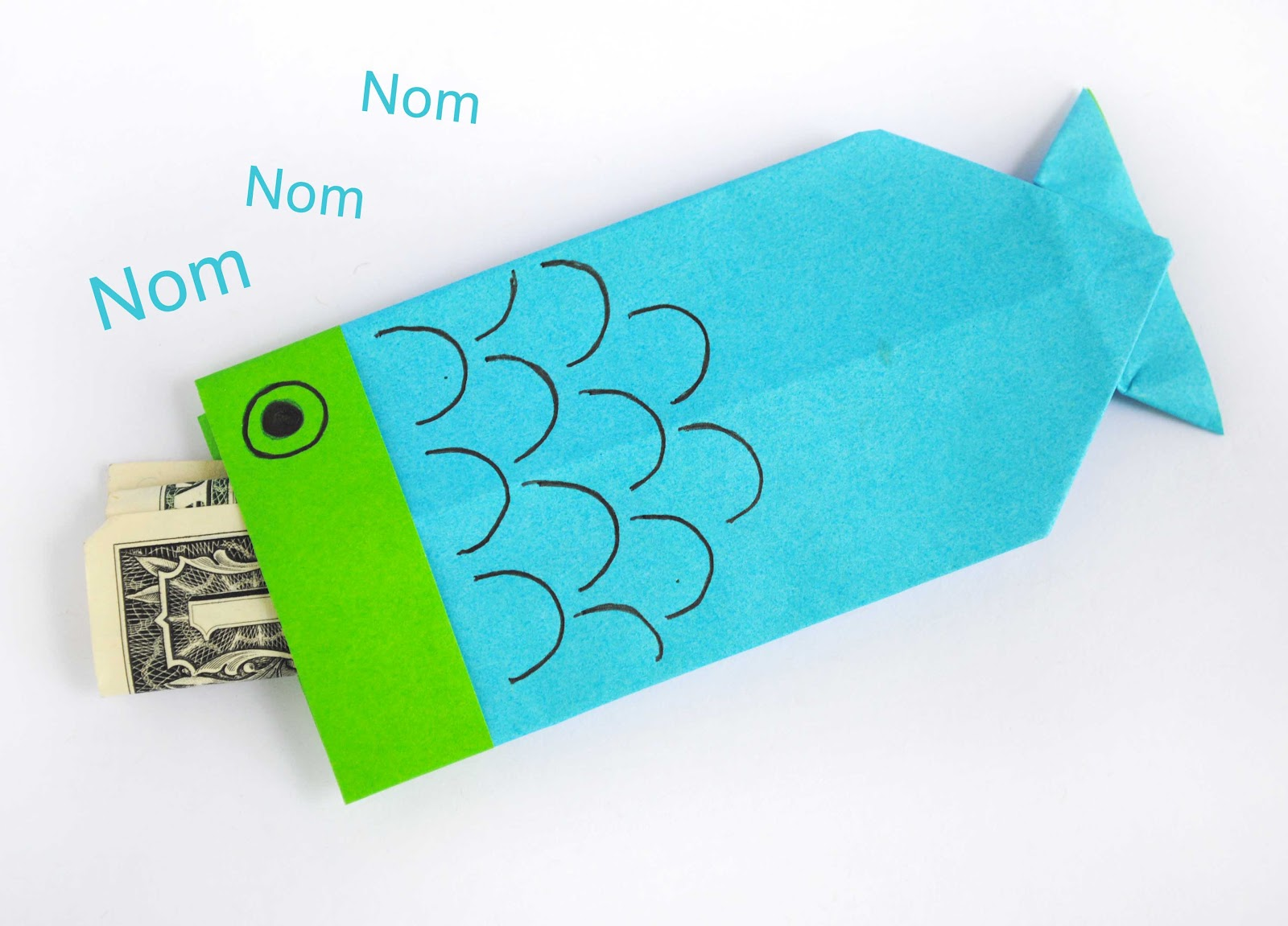 Not celebrating Boy39;s Day? Use this origami fish for a chopstick cover
