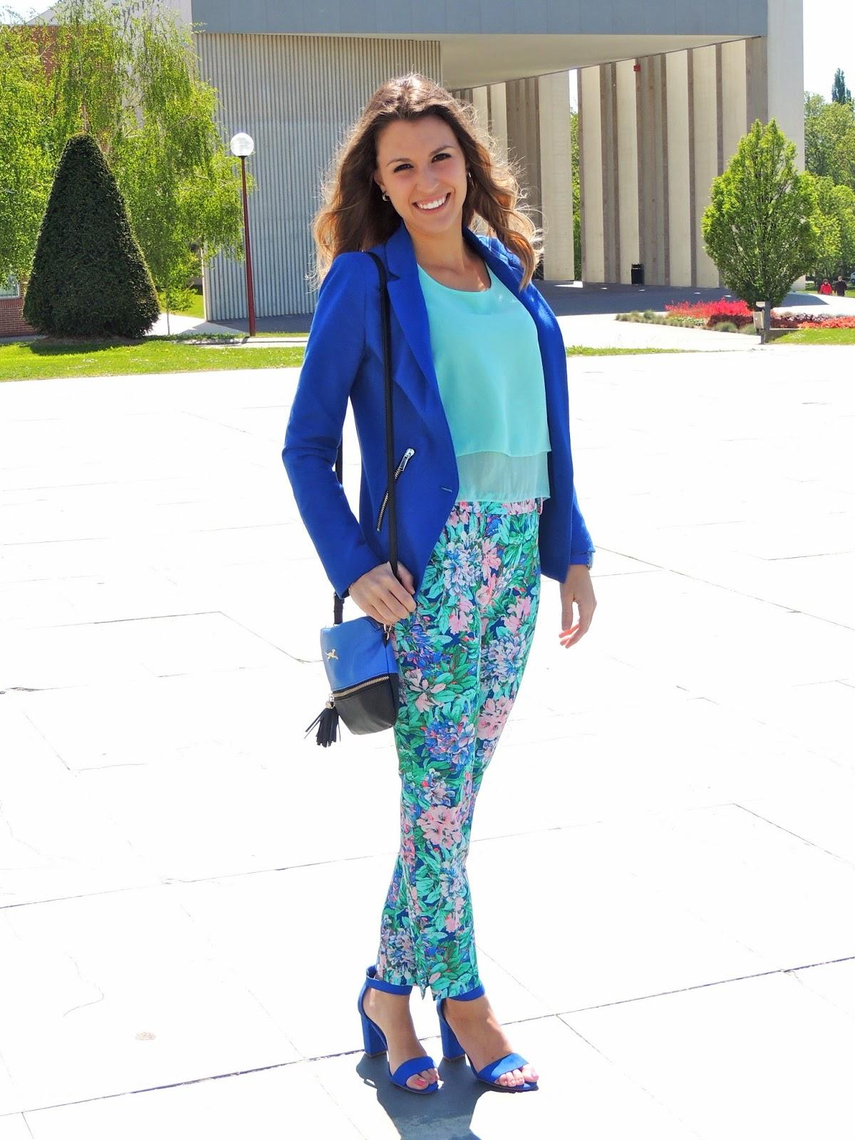 pantalones estampados primavera