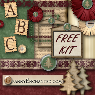 Digi scrapping freebies christmas