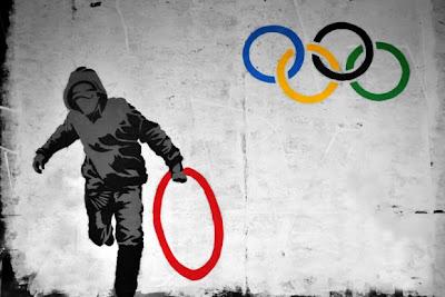 banksy olimpics