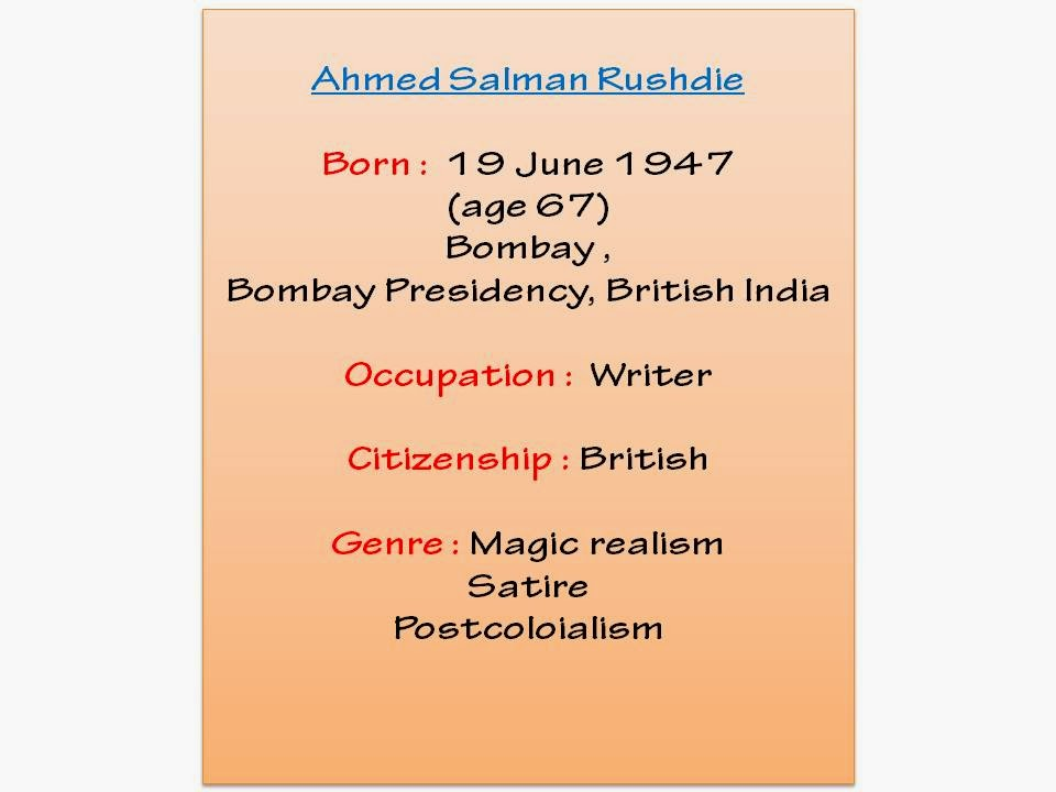 salman rushdie imaginary homelands essays and criticism Despite the standing death threat, rushdie continued to write, producing imaginary homelands (1991), a collection of essays and criticism the children's novel haroun and the sea of stories (1990) the short-story collection east, west (1994) and the novel the moor's last sigh (1995.