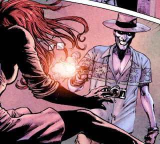 "Barbara Gordon remembers being shot and crippled by the Joker (see Alan Moore's ""The Killing Joke"")"