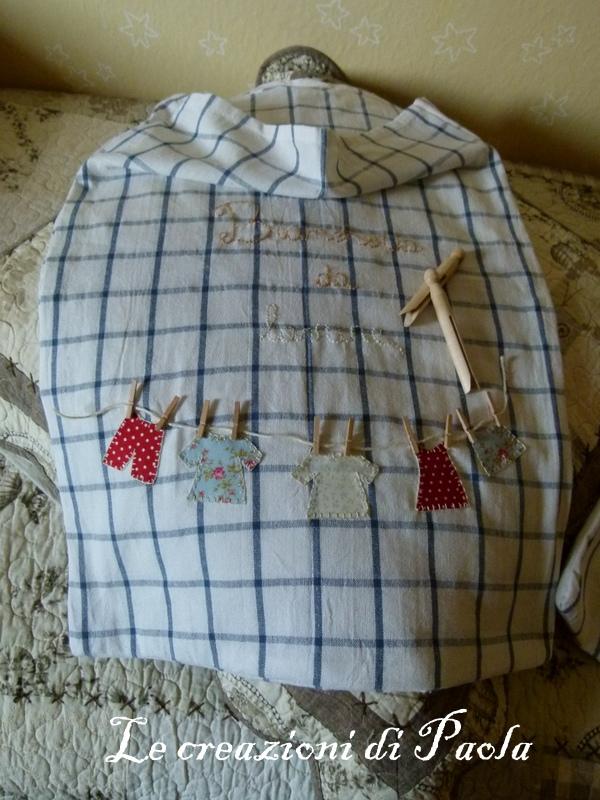 Le creazioni di paola questa volta l 39 idea mia - Porta sacchetti ikea ...