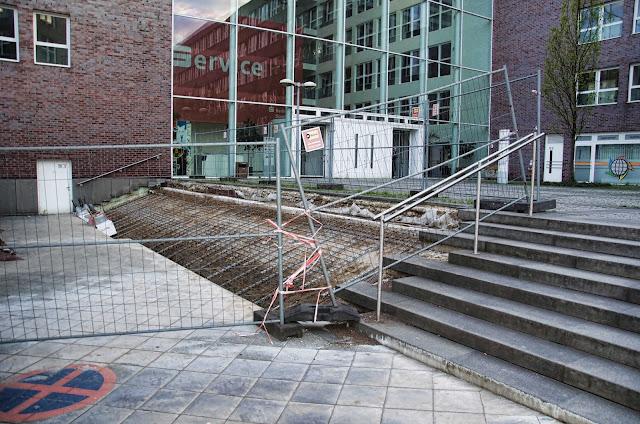 Baustelle Treppe, Brunnenstraße 111, 13355 Berlin, 16.04.2014