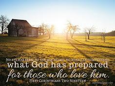 God Prepares