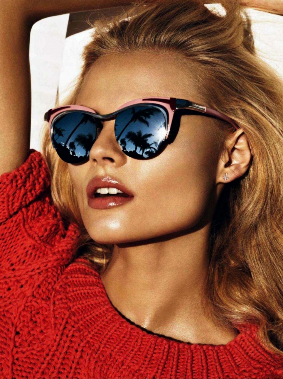 How to Wear Mirrored Sunglasses