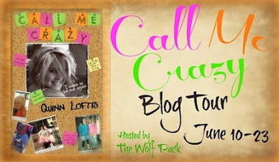 Blog Tour: Call Me Crazy by Quinn Loftis