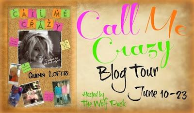 Blog Tour: Call Me Crazy by Quinn Loftis