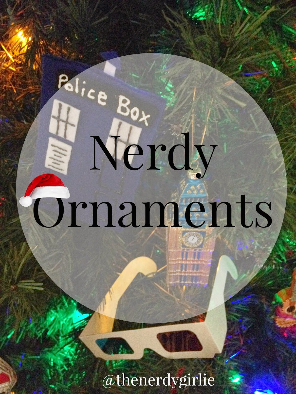christmas is one of my favorite times of year i love christmas decor and i love nerdy things i wanted to mash my love of both together in this months - Nerdy Christmas Ornaments