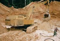 Diamond mining Deep in the Venezuelan Jungle