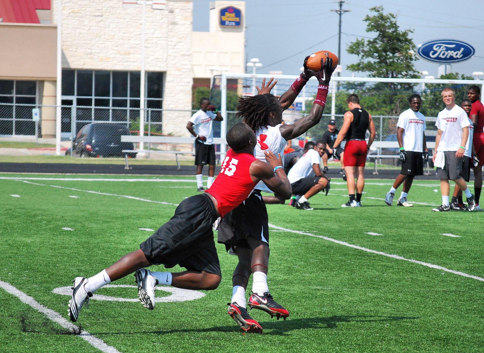 Terrell Daily Photo Texas Tech Football Camp
