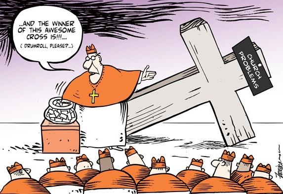 Political Cartoon Vatican, Vatican Elections, Pope Francisco cartoon