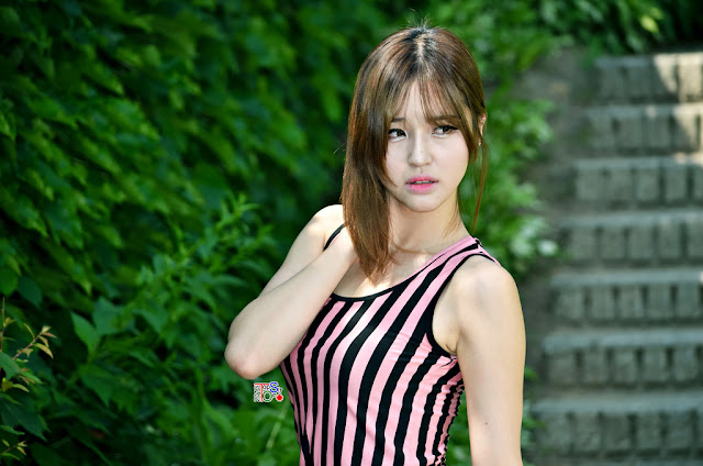 1 Choi Byeol Ha - Outdoor - very cute asian girl - girlcute4u.blogspot.com