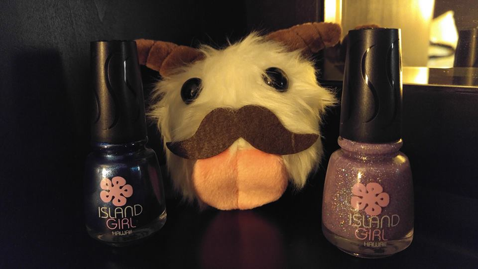 A Geek Girls Take!: [Makeup Review] Island Girl Hawaii Nail Polish