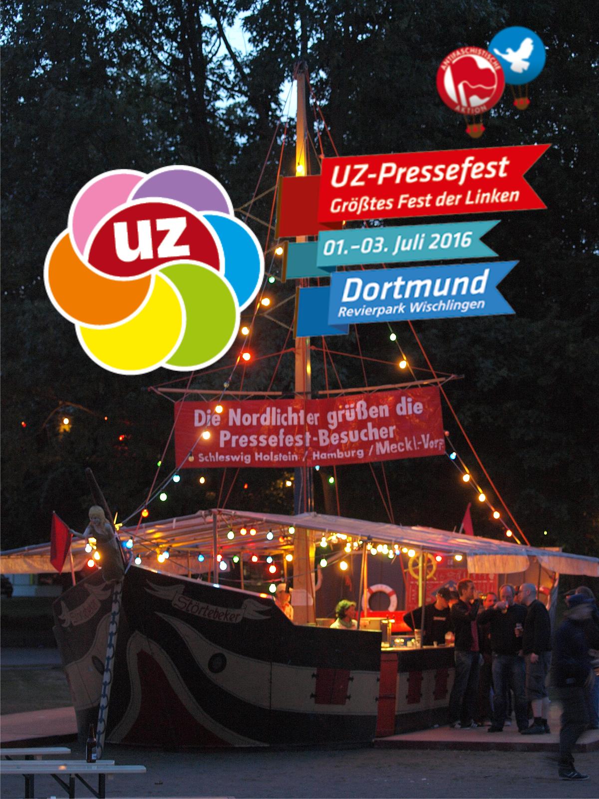 Das UZ-Pressefest- Fest der Solidarität