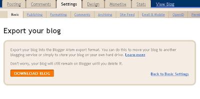 Transfer Data In Blogs
