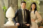 Marcelo Hicho e Marie Lafayette