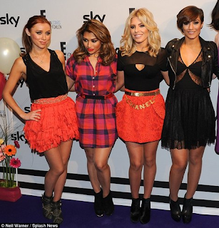 Frankie Sandford, The Saturdays, Lace Panel, Cut Out, Dress, Black, ASOS