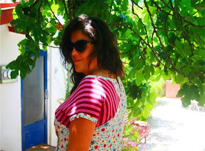 patrón vestido lactancia original