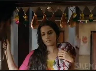 Indian Actress Vidya Balan Hot Scene