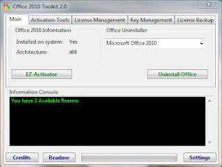 Office 2010 Ürün Anahtarı - Tam sürüm yapma