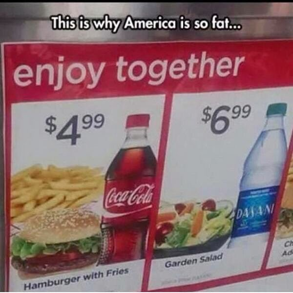America is so fat