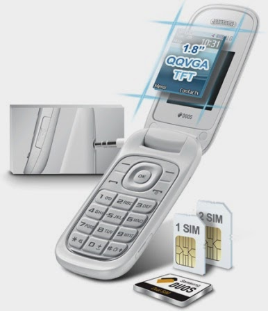 Gambar Samsung E1272 Clamshell Murah Dual SIM