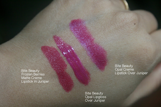 BITE Beauty Opal Creme Lipstick and Lipgloss | BITE Beauty Opal Creme Collection